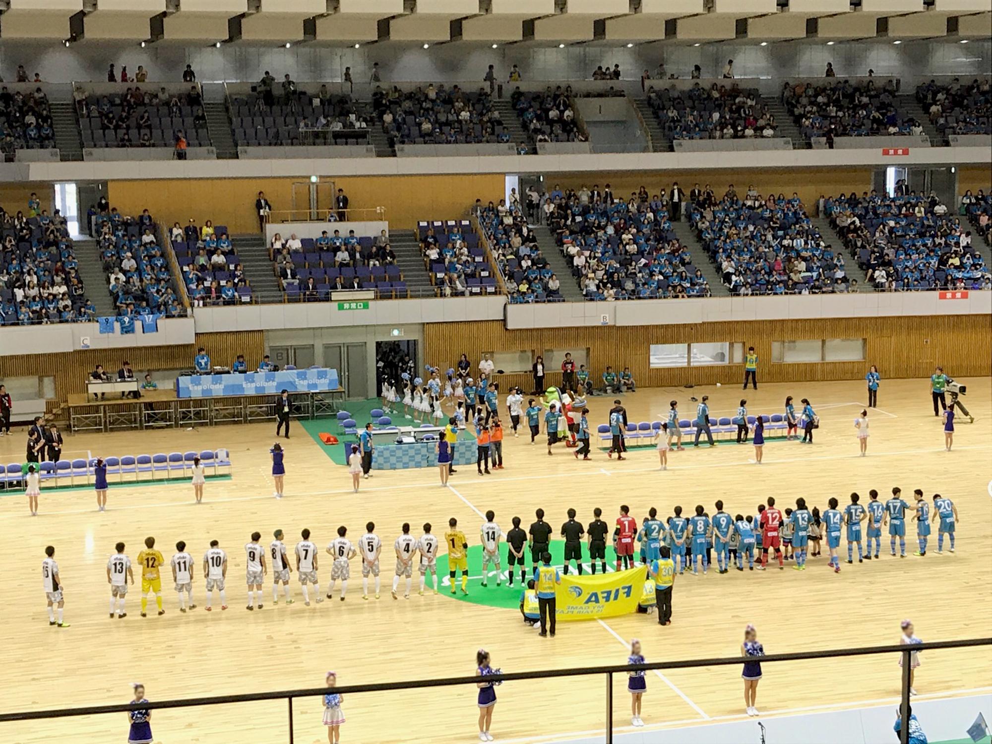 エスポラーダ北海道 vs Fリーグ選抜(第2節)