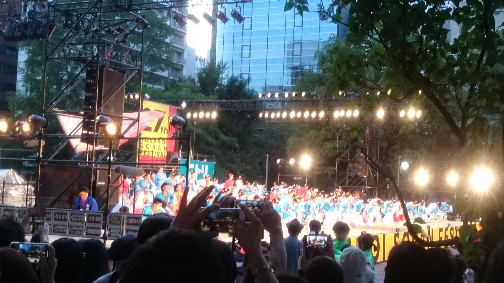 第27回 YOSAKOI(よさこい)ソーラン祭り2018