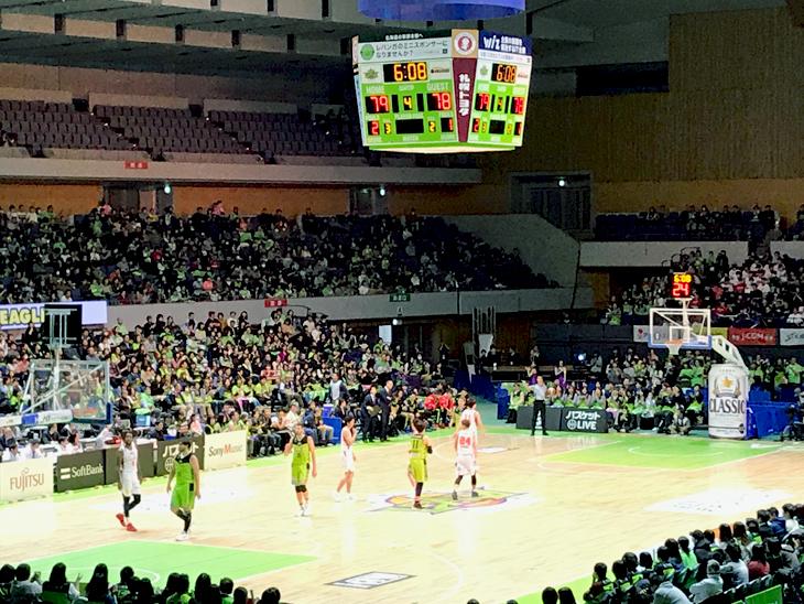 レバンガ北海道 vs 富山グラウジーズ(第12節)