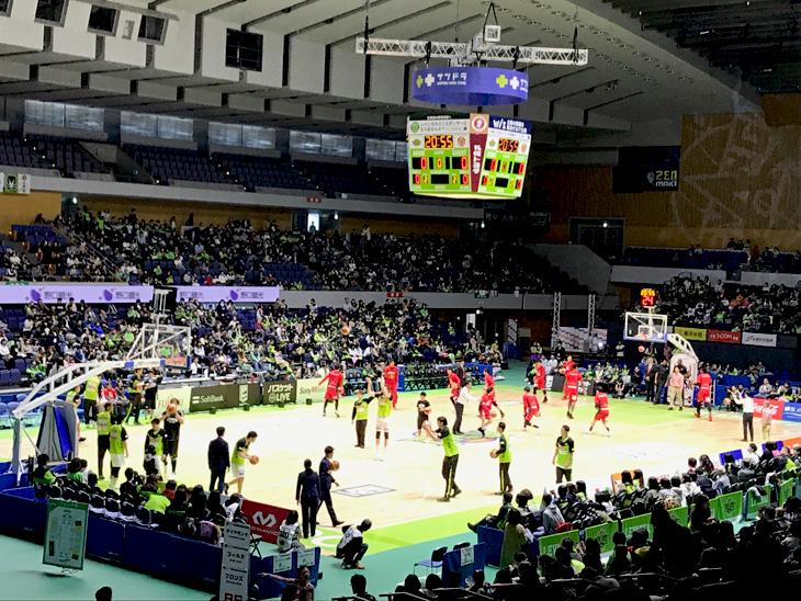 レバンガ北海道 vs 名古屋ダイヤモンドドルフィンズ(第26節)